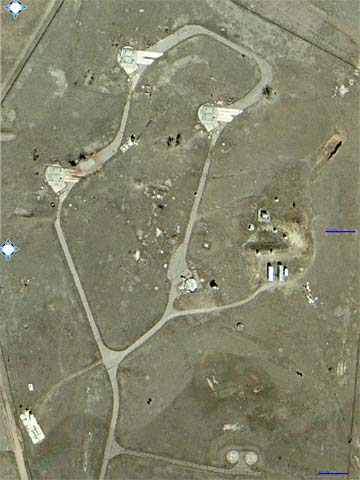 aerial view of missilebase