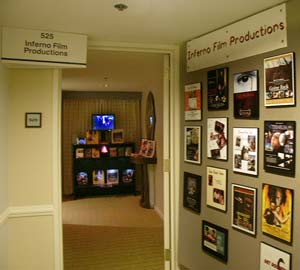 Inferno Film Productions entryway