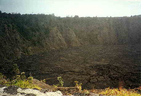 Crater in Hawaii
