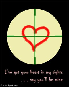 your heart in my sights