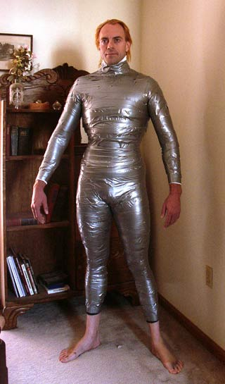 duct tape clothing