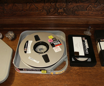 one inch type c reel-to-reel videotape