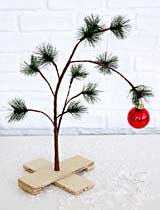 Charlie Brown Pathetic Tree