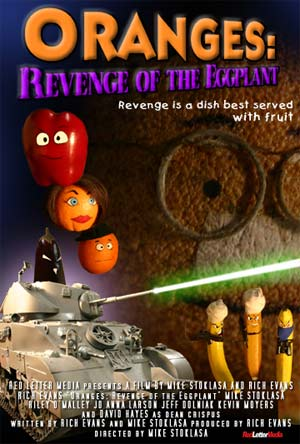 Oranges:  revenge of the eggplant