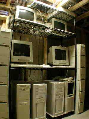 the main web servers